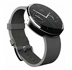 Умные часы Motorola Moto 360 (leather) Grey