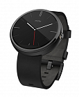 Умные часы Motorola Moto 360 (leather) Black