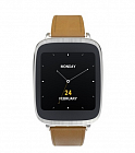 Умные часы Asus ZenWatch (WI500Q) Silver/Brown