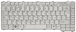 Клавиатура для ноутбука TOP-67879 Toshiba Satellite A200, A205, A210, A215, M200 Series Silver