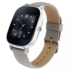 Умные часы ASUS ZenWatch 2 (WI502Q) Silver /Leather Khaki Silver